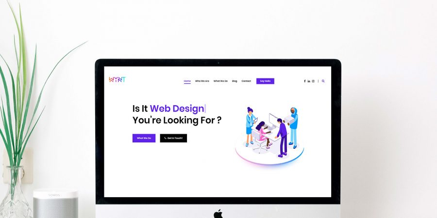 WYNT. Launches new website!